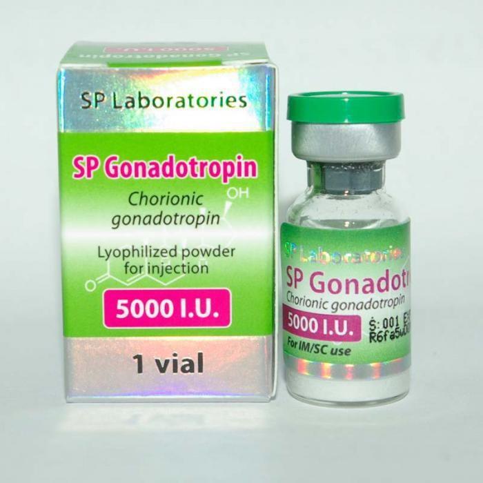 SP GONADOTROPIN 5000IU/VIAL - ЦЕНА ЗА 1 АМПУЛУ (5000ЕД)